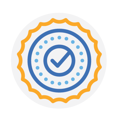 you are now connected badge