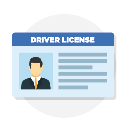 Verify Your Identity, drivers license